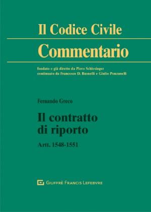 """Featured image for """"IL CONTRATTO DI RIPORTO"""""""