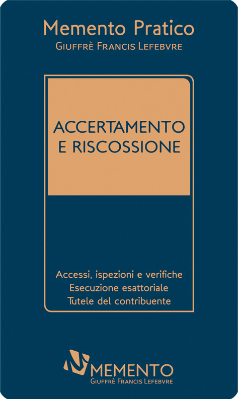 "Featured image for ""MEMENTO ACCERTAMENTO E RISCOSSIONE"""