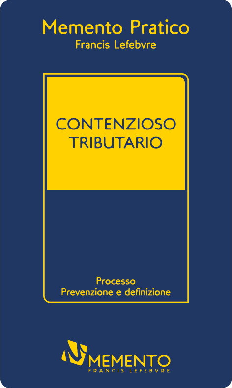 "Featured image for ""MEMENTO CONTENZIOSO TRIBUTARIO"""