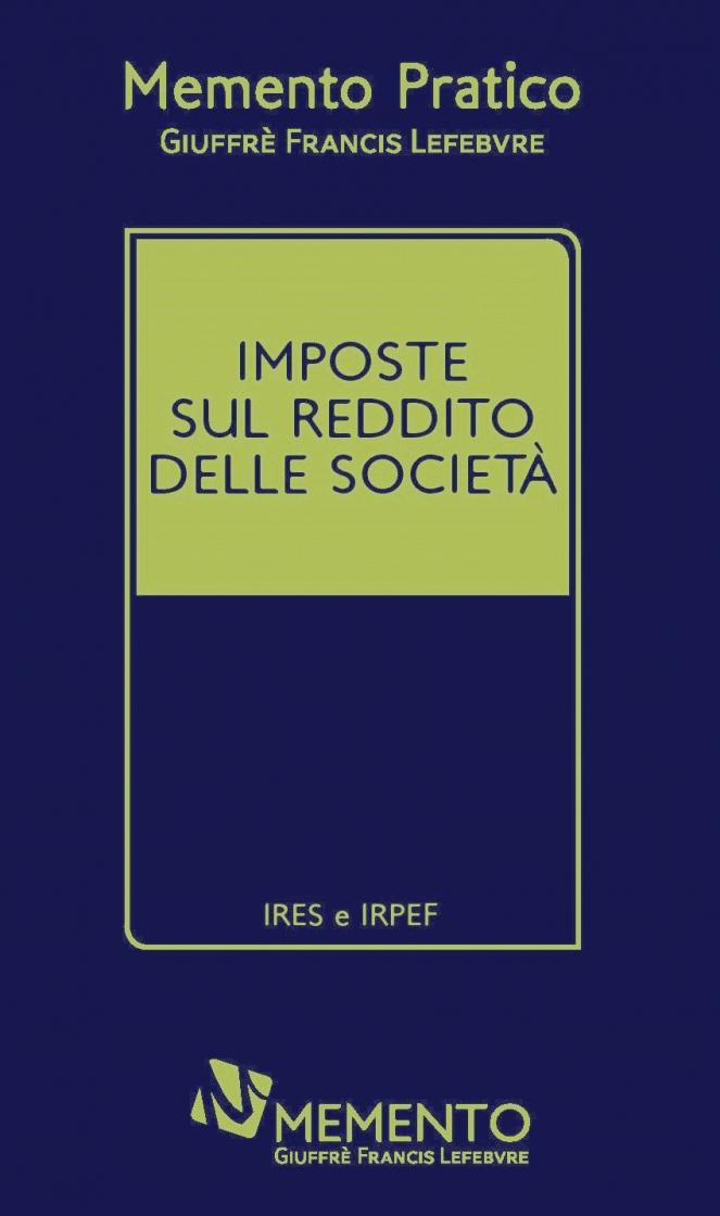"""Featured image for """"MEMENTO IMPOSTE SUL REDDITO E DELLE SOCIETA'"""""""