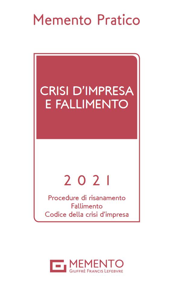 """Featured image for """"MEMENTO CRISI D'IMPRESA E FALLIMENTO"""""""