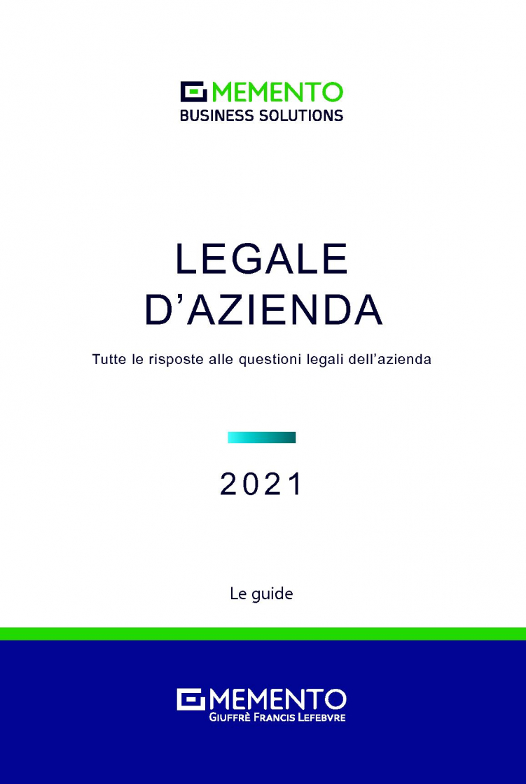 "Featured image for ""MEMENTO BUSINESS SOLUTIONS - LEGALE D'AZIENDA"""