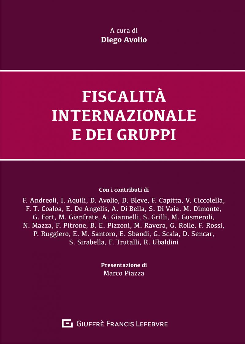 """Featured image for """"FISCALITÀ INTERNAZIONALE E DEI GRUPPI"""""""