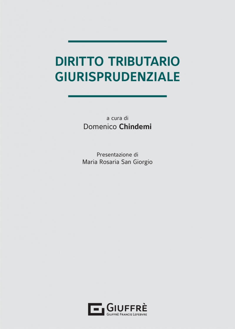 """Featured image for """"DIRITTO TRIBUTARIO GIURISPRUDENZIALE"""""""