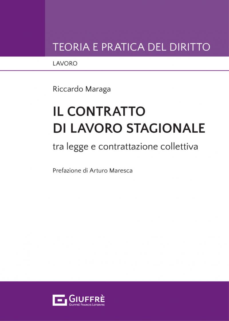 """Featured image for """"IL CONTRATTO DI LAVORO STAGIONALE"""""""