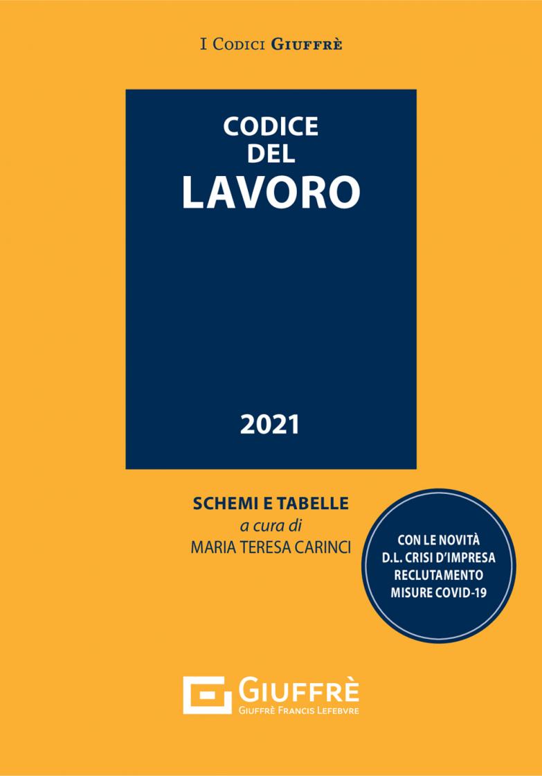 """Featured image for """"CODICE DEL LAVORO"""""""